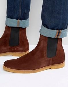 Замшевые ботинки челси Religion - Коричневый
