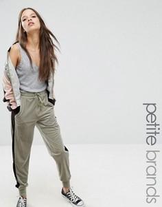 Бархатные спортивные штаны Glamorous Petite - Мульти