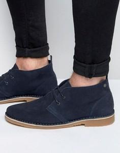 Замшевые ботинки-дезерты Jack & Jones Gobi - Темно-синий