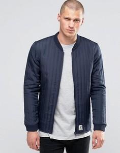 Стеганая куртка‑пилот Fat Moose Lumber - Темно-синий