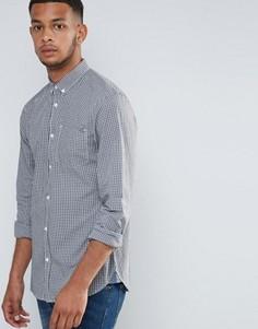 Рубашка в мелкую клеточку Tokyo Laundry - Темно-синий