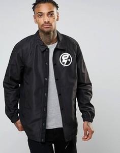 Тренерская куртка с логотипом G-Star - Черный