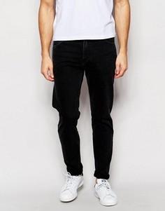 Черные суженные джинсы с заниженным шаговым швом Weekday Sunday - Черный