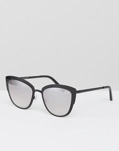 Солнцезащитные очки кошачий глаз Quay Australia Super Girl - Черный