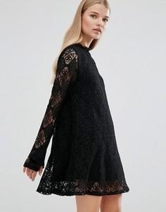 Кружевное платье Madam Rage - Черный