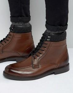 Ботинки на шнуровке Ted Baker Hickut - Коричневый