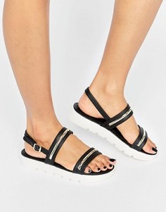Сандалии на каблуке и платформе ALDO Needle - Черный