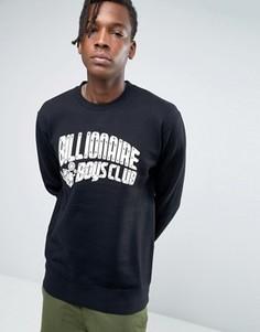 Свитшот с принтом Mechanics и логотипом Billionaire Boys Club - Черный