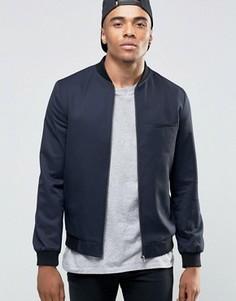 Темно-синяя куртка‑пилот New Look - Темно-синий