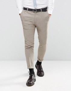 Зауженные брюки New Look - Stone
