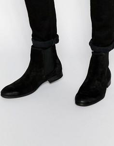 Замшевые ботинки Selected Homme Yannick - Коричневый