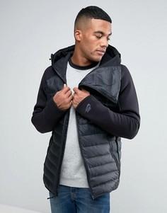 Черная куртка с капюшоном Nike Aeroloft 806838-010 - Черный