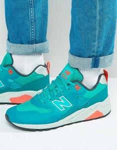 Кроссовки New Balance 580 - Зеленый