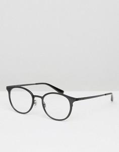 Круглые очки Ray-Ban 0RX6372M - Черный
