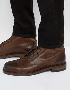 Кожаные ботинки на шнуровке ALDO Acerrassi - Коричневый