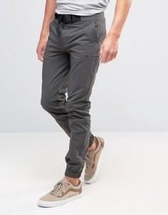 Темно-серые брюки скинни ASOS - Серый