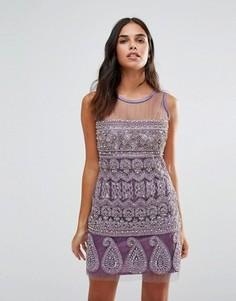 Цельнокройное платье A Star Is Born - Фиолетовый