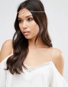 Украшение для волос с подвеской-кристаллом ASOS - Медный