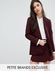 Приталенный пиджак Alter Petite - Красный