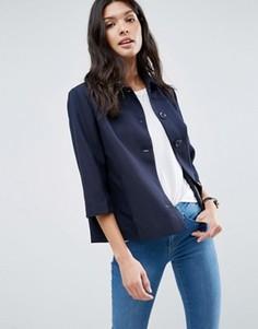 Рубашка с рукавами 3/4 b.Young - Темно-синий