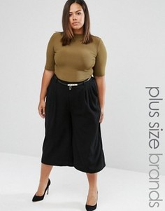 Юбка-брюки Elvi Plus - Черный