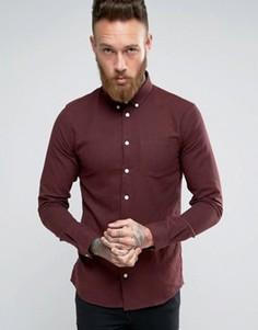 Красная рубашка классического кроя Minimum - Красный