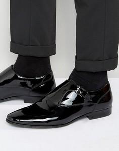 Лакированные кожаные монки ALDO Kedoalia - Черный