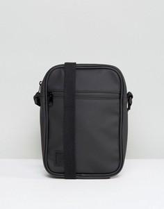 Черная сумка для авиаперелетов с прорезиненной отделкой ASOS - Черный