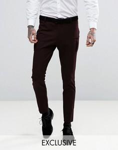 Супероблегающие брюки с накладными карманами Religion - Фиолетовый
