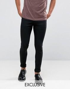 Черные джинсы суперузкого кроя Noak - Черный