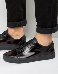 Кожаные кроссовки Ted Baker Kiing - Красный