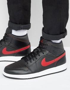 Черные кроссовки Nike Jordan Air Jordan 1 554724-009 - Черный