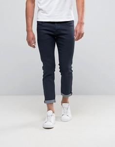 Узкие укороченные джинсы с темным покрытием BOSS Orange by Hugo Boss 76 - Синий
