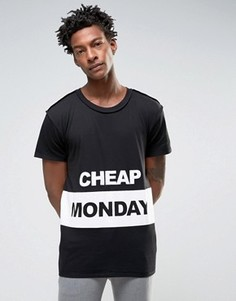 Футболка Cheap Monday - Черный