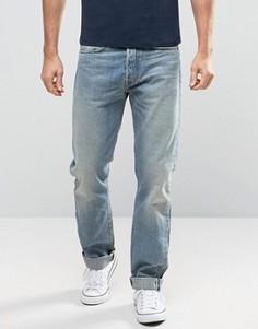 Свободные джинсы Edwin ED-49 Red Listed - Синий