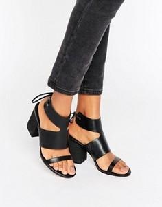 Босоножки на каблуке ASOS TIMING - Черный