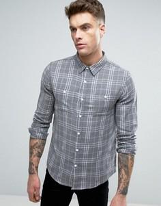 Серая рубашка в клетку Another Influence - Серый