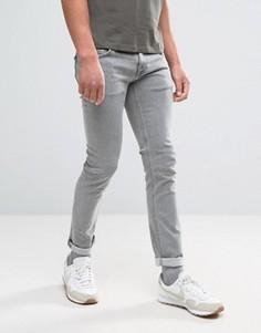 Серые обтягивающие джинсы Nudie Jeans Co - Серый