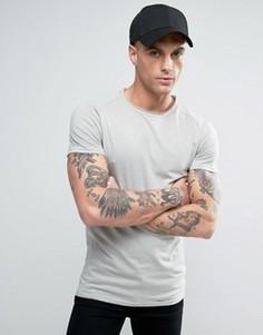 Обтягивающая футболка Liquor & Poker - Серый