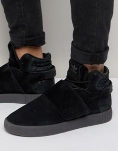 Черные кроссовки adidas Originals Tubular Invader STR BB8392 - Черный