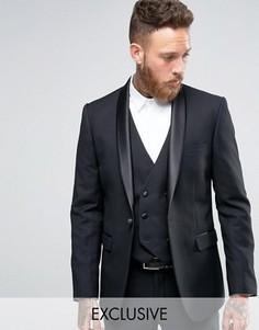 Пиджак под смокинг Farah Arnos - Черный