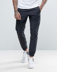 Черные джоггеры с вышитым логотипом Nike 804325-010 - Черный