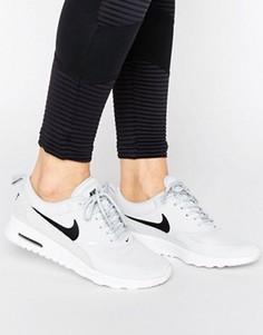 Бледно-серые кроссовки Nike Air Max Thea - Серый