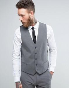 Серый узкий жилет New Look - Серый