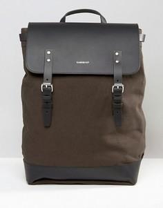 Зеленый рюкзак Sandqvist Hege - Зеленый