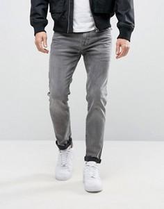 Стретчевые джинсы скинни Selected Homme - Серый