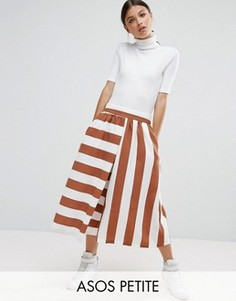 Юбка-брюки в полоску ASOS PETITE - Мульти