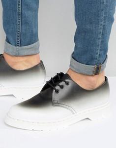 Туфли с 3 парами люверсов Dr Martens 1461 Fade - Черный