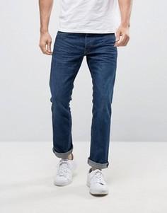 Прямые темно-синие джинсы Jack & Jones Intelligence - Синий