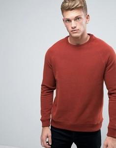 Красно-бурый свитшот Burton Menswear - Красный